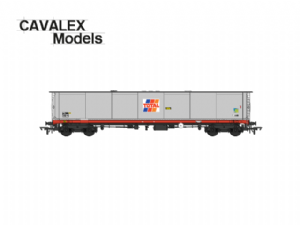"Cavalex 'TEA': ""Total"" Grey Livery, Single Wagon [NOT YET RELEASED]"